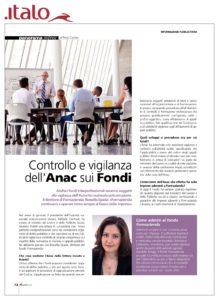 Controllo e vigilanza dell'Anac sui Fondi