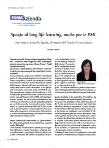 Spazio al long life learning, anche per le PMI