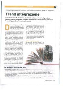 Formazione: trend integrazione