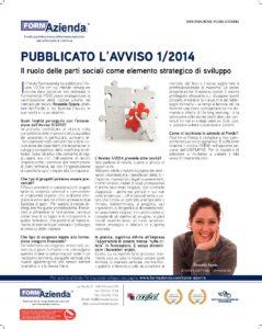 Pubblicato l'Avviso 1/2014