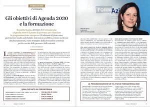 Gli obiettivi di Agenda 2030 e la formazione
