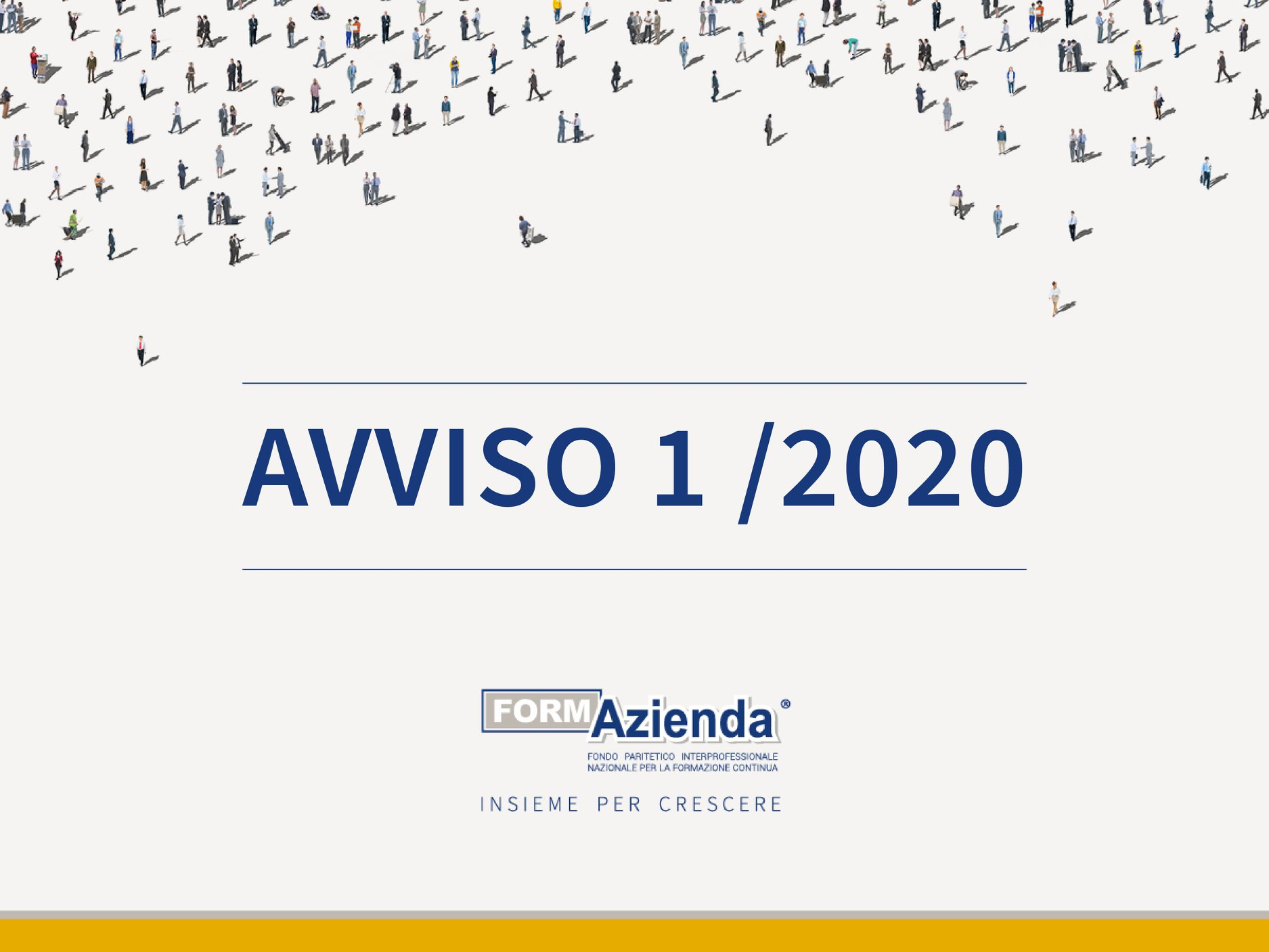 Avviso 1/2020, scadenza progetti quadro prorogata al 9 marzo