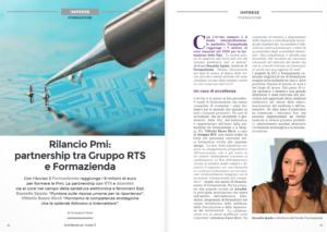 Rilancio Pmi: partnership tra Gruppo RTS e Formazienda