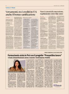 """FORMAZIENDA AIUTA LE PMI CON IL PROGETTO """"PROSPETTIVA LAVORO"""""""