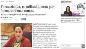 FORMAZIENDA, 10 MILIONI DI EURO PER FORMARE LE RISORSE UMANE