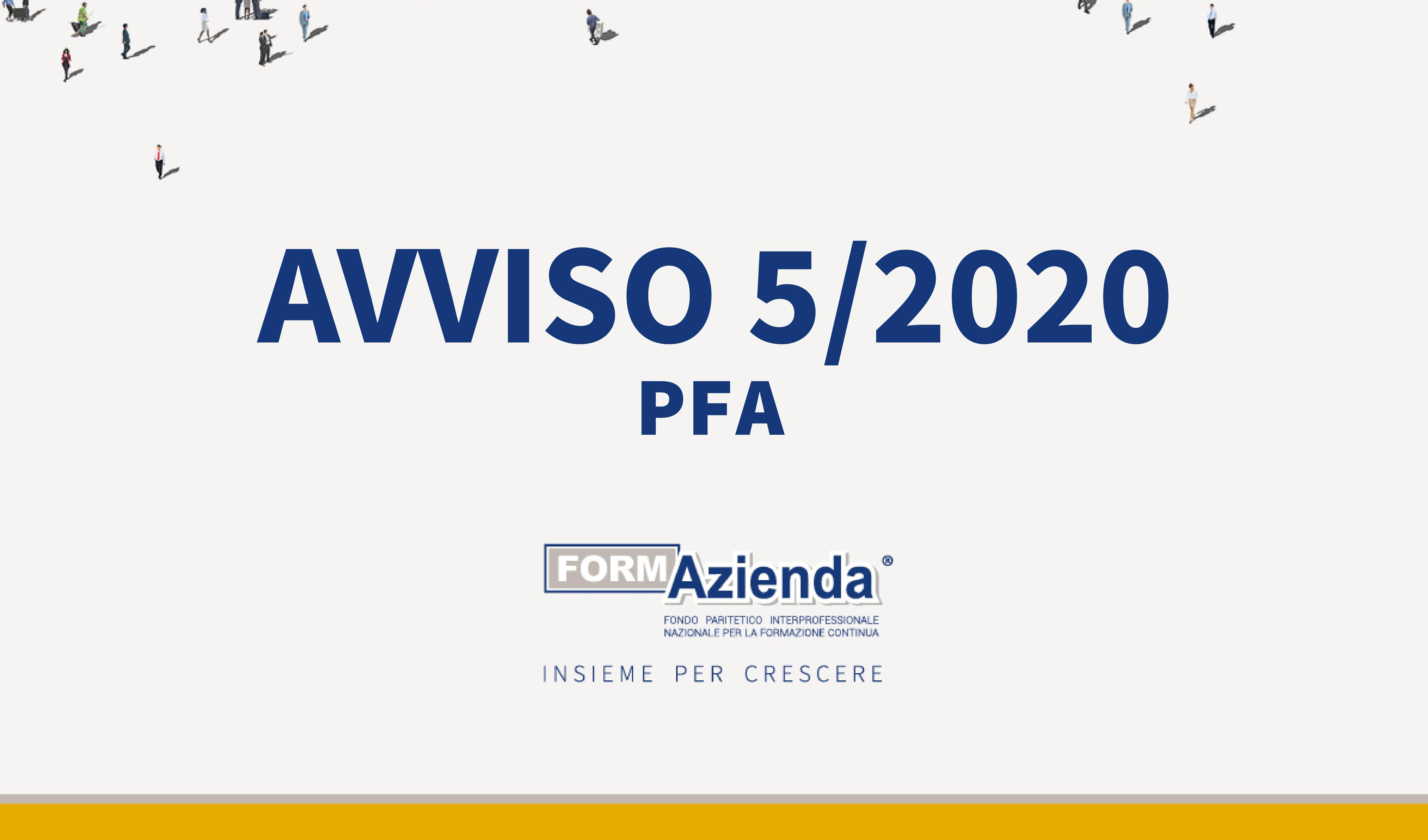 AVVISO 5/2020 PFA