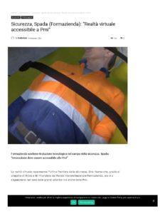 SICUREZZA, SPADA (FORMAZIENDA):«REALTÀ VIRTUALE ACCESSIBILE A PMI»