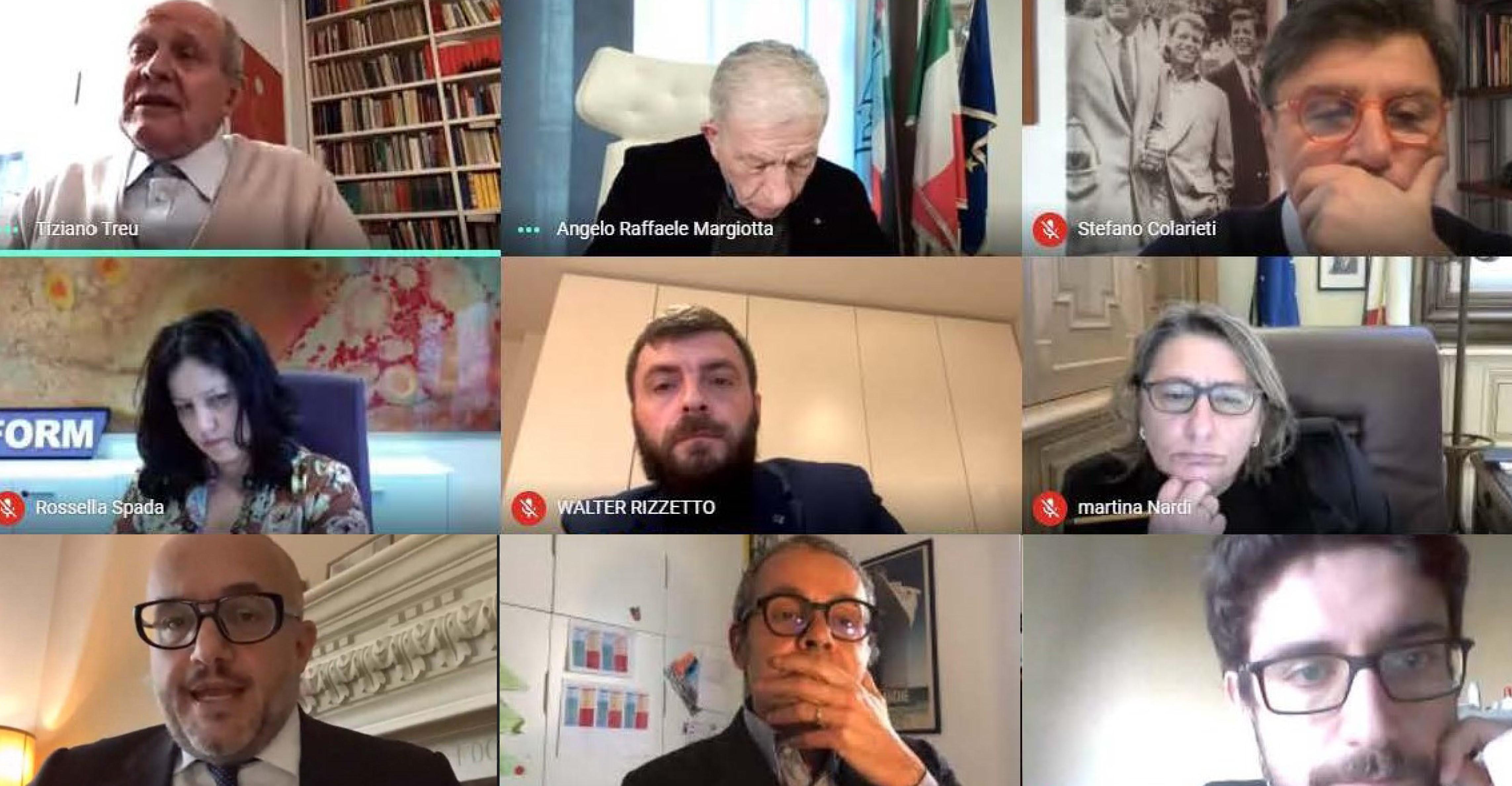 DIGITAL DEBATE CON IL PRESIDENTE CNEL TIZIANO TREU. FORMAZIENDA E LE POLITICHE PER LA RIPARTENZA