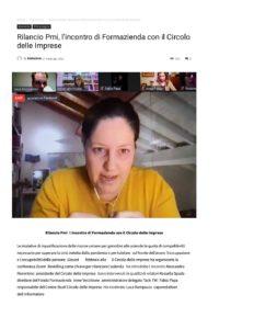 RILANCIO PMI, L'INCONTRO DI FORMAZIENDA CON IL CIRCOLO DELLE IMPRESE