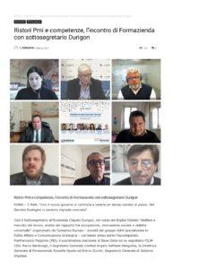 Ristori Pmi e competenze, l'incontro di Formazienda con sottosegretario Durigon